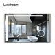 Customization Smart Bathroom Anti-fog Make Up Vanity Cabinet LED Mirror For Hotel