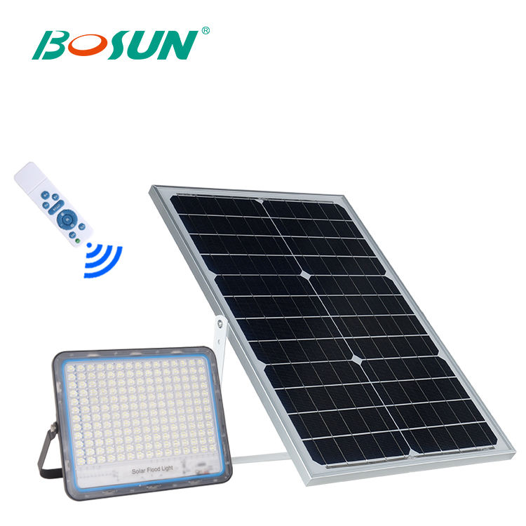 Contramaestre 40w 60w 100w 200w ip66 impermeable al aire libre smd solar recargable led reflector