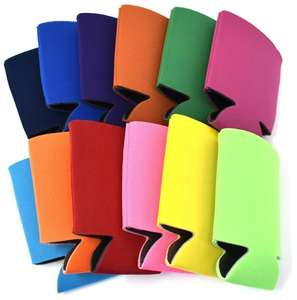 Multi-color Blank Foam Can Cooler Holder Sleeve Beer Cooler Insulator Bottle Cover