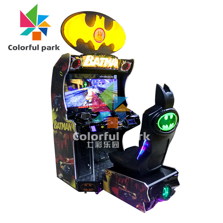 Colorful Park Simulator Bumper Car Arcade Game Machine Coin+Operated+Games