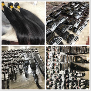 Free Sample 100% Mink Brazilian Virgin Human Hair Bundles Wholesale Virgin Brazilian Hair Vendor Raw Virgin Cuticle Aligned Hair