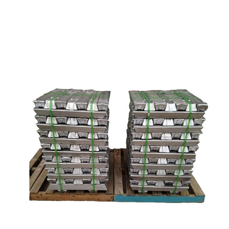 Hot selling high pure price zinc ingot 99.99% purity zinc ingot 99.995%