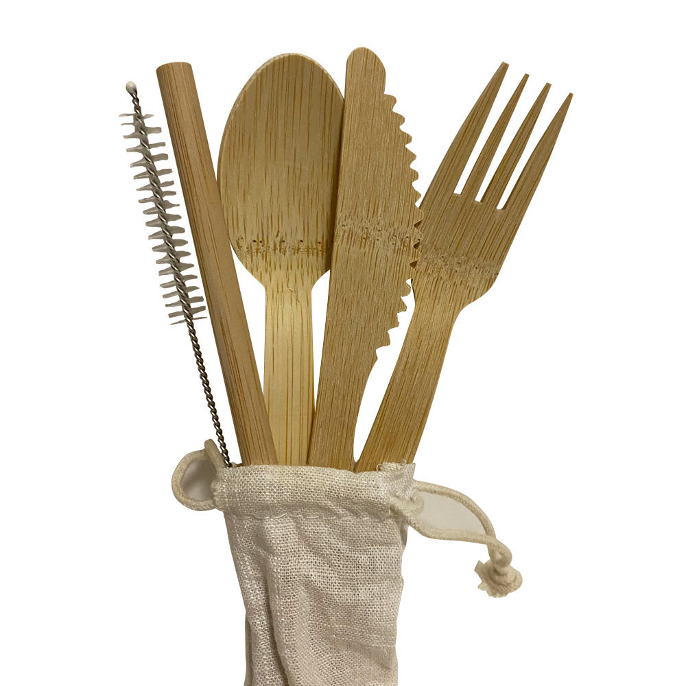 Disposable Bamboo Utensils Cutlery Bamboo