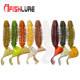 Screw Curly Tail Soft Worm Fishing Lure 60mm 3g fishing Silicone Worm fishing lures