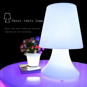 Led hotel modern portable smart RGB table lamp light luxury cheap wholesale