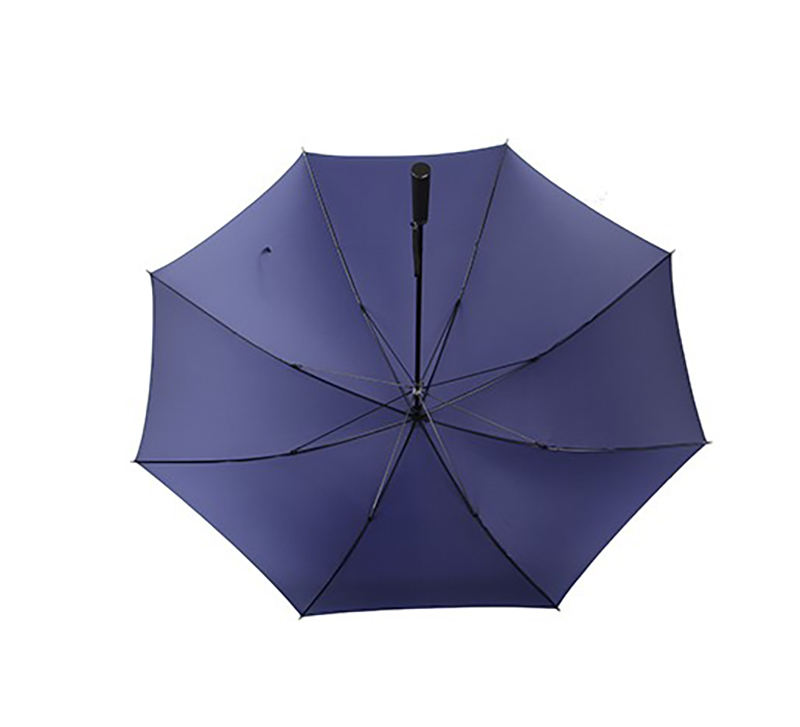 Super fine workmanship carbon fiber frame navy nylon canopy manual golf umbrella