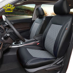 2020 ROWNFUR Japanese design pvc pu leather durable quality waterproof leather car seat covers car+seats