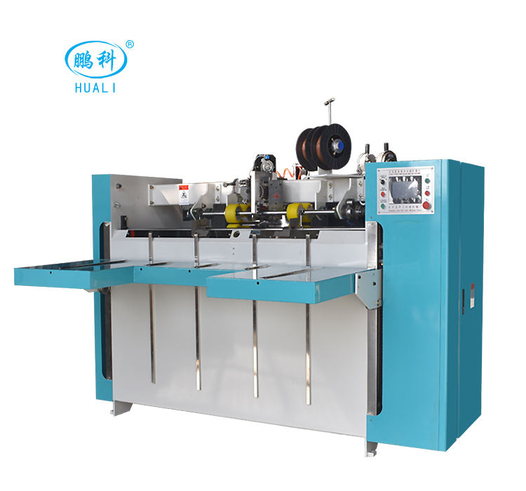 Semi-Auto Corrugated Stapling Box Sheet Machinery From Huali Machinery