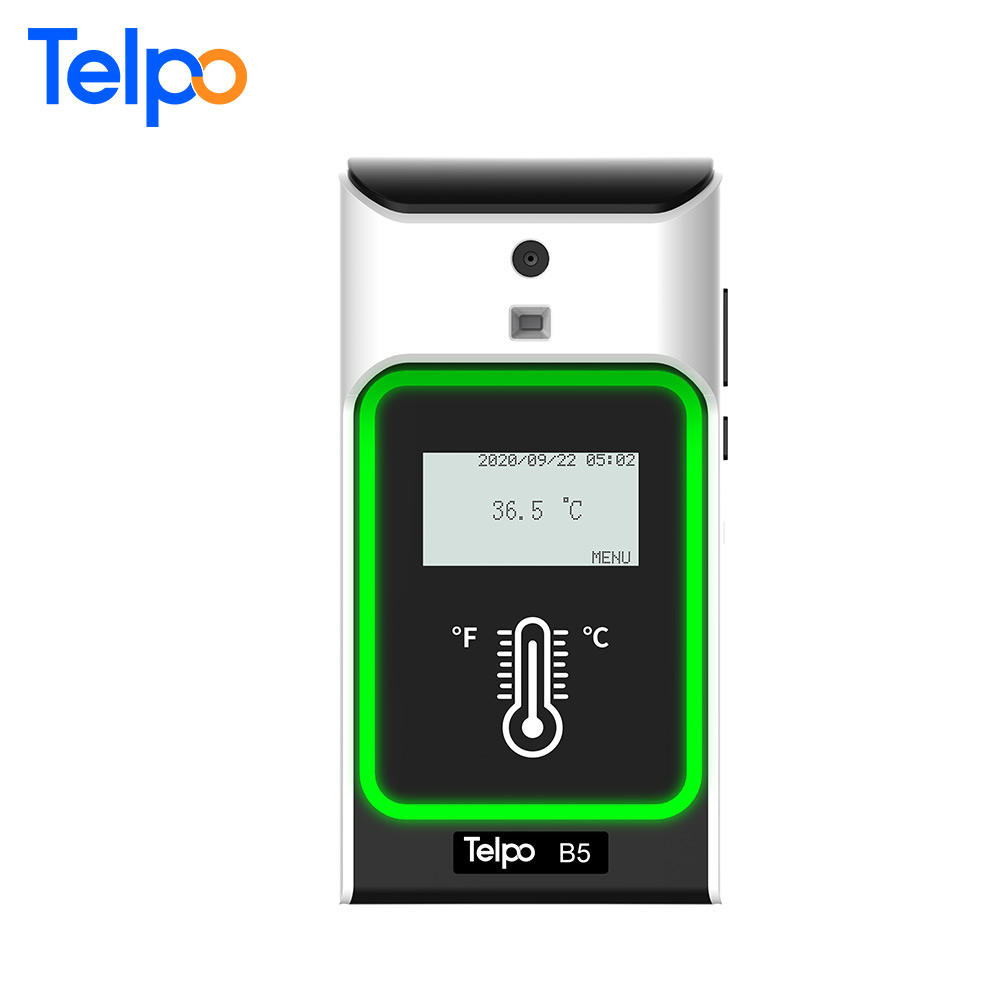 Telpo B5 Plug And Play Temperature Scanner Infrared Body Temperature Sensor Temp Measuring Instruments