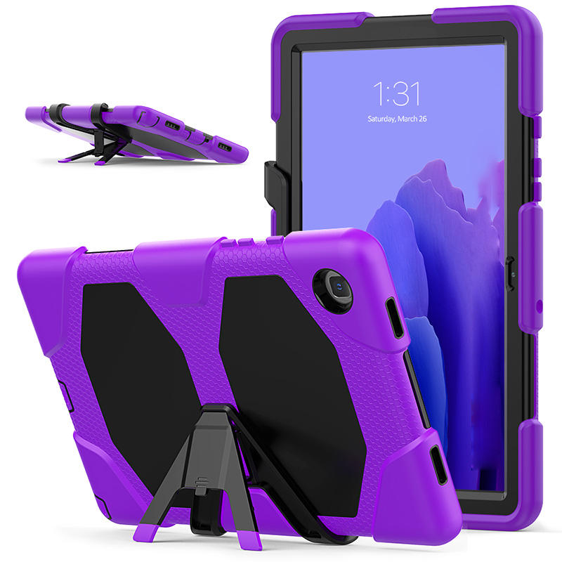 New popular shockproof PC silicone rugged screen protector detach kickstand table case for Samsung Galaxy Tab A7 10.4 T500 T505