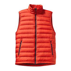 Hot Sale Lightweight Packable Down Vest High Quality Custom Down Vest Men