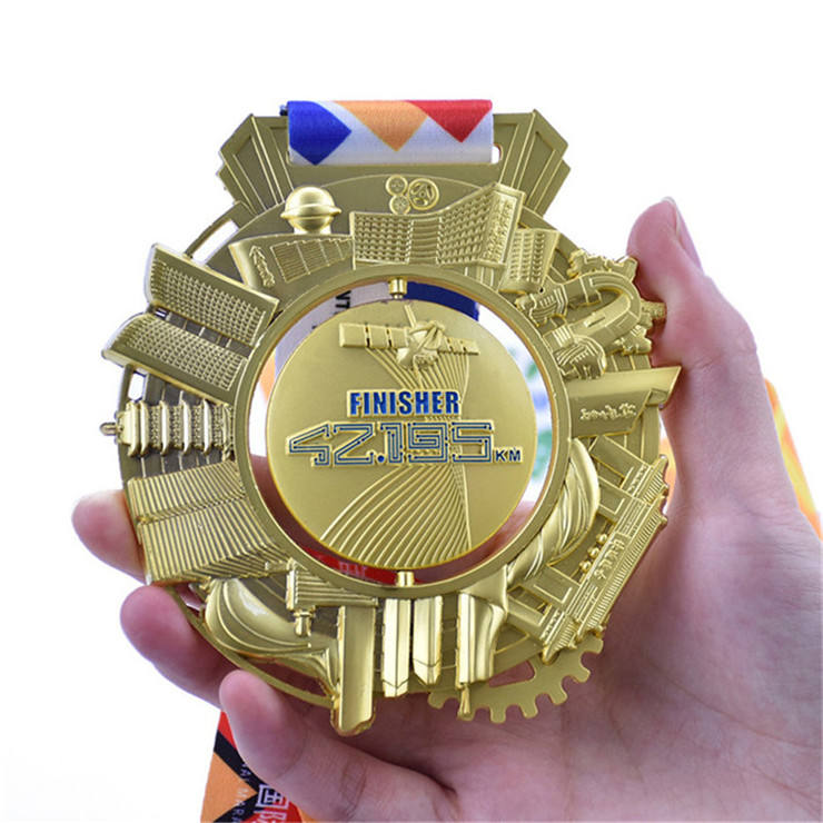 2019 custom 5 k 10 k marathon sports high quality enamel medal