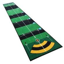 JACKSON Factory wholesale custom color golf practice teaching mini golf putting mat for home office