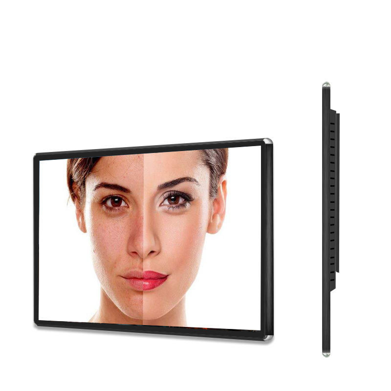 32 &quot;montaggio a parete digital signage <span class=keywords><strong>lcd</strong></span> totem display advertising ristorante interno 2k monitor chiosco con android di tocco di shopping centro commerciale