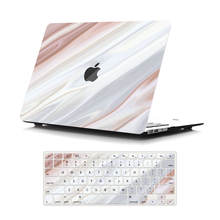 Laptop Marble Printing Plastic Hard Shell Case for macbook hard cover pro 13 15 with keyboard cover
