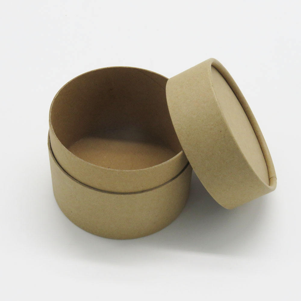 62mm inner diameter paper jar cosmetic oil bottle tea packaging paperboard tube