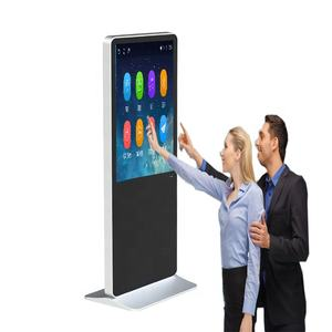 Supporto da pavimento Media Player di Windows Digital Signage Interattivo Touch Screen Digital Signage Totem Chiosco