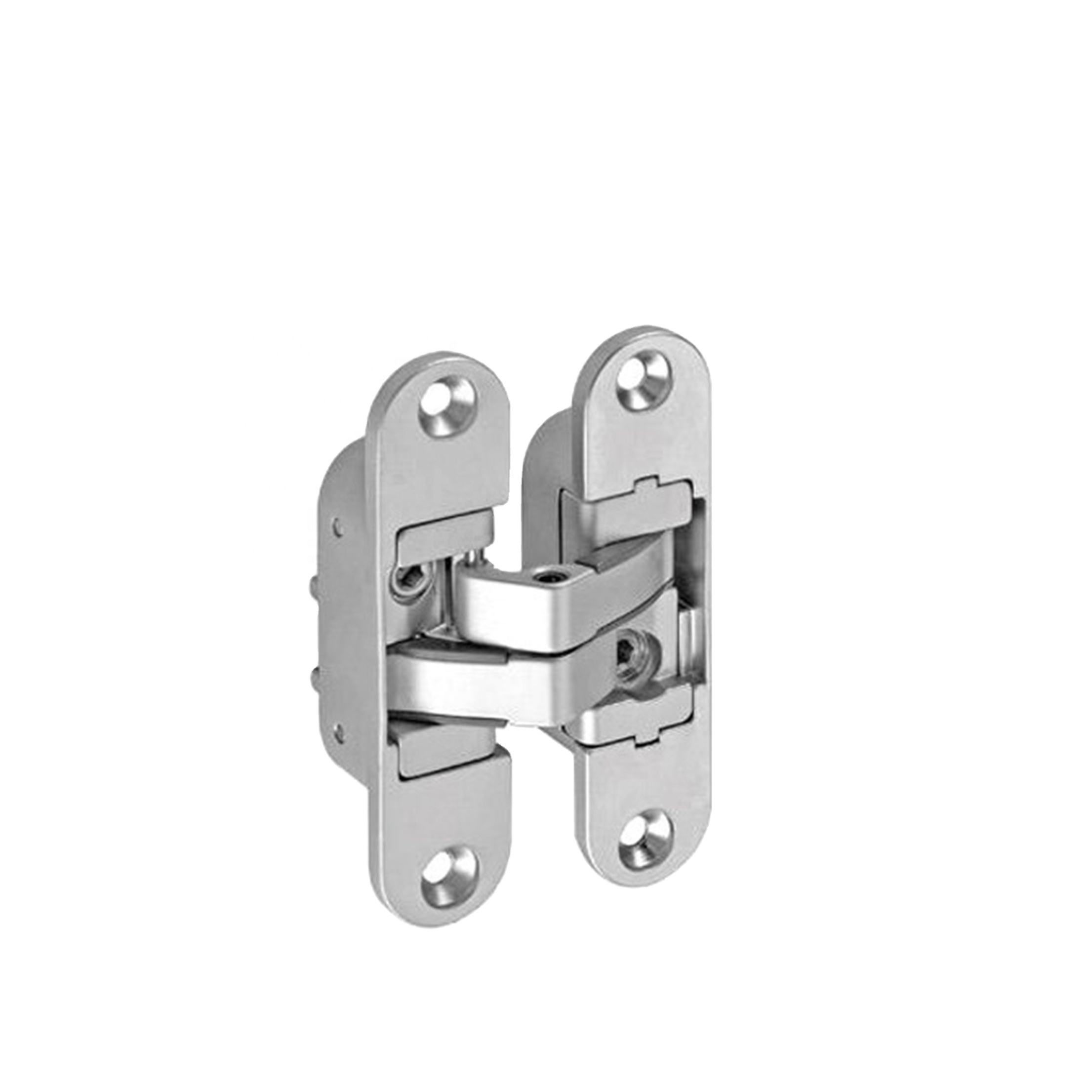 Custom zinc hidden hinges for door