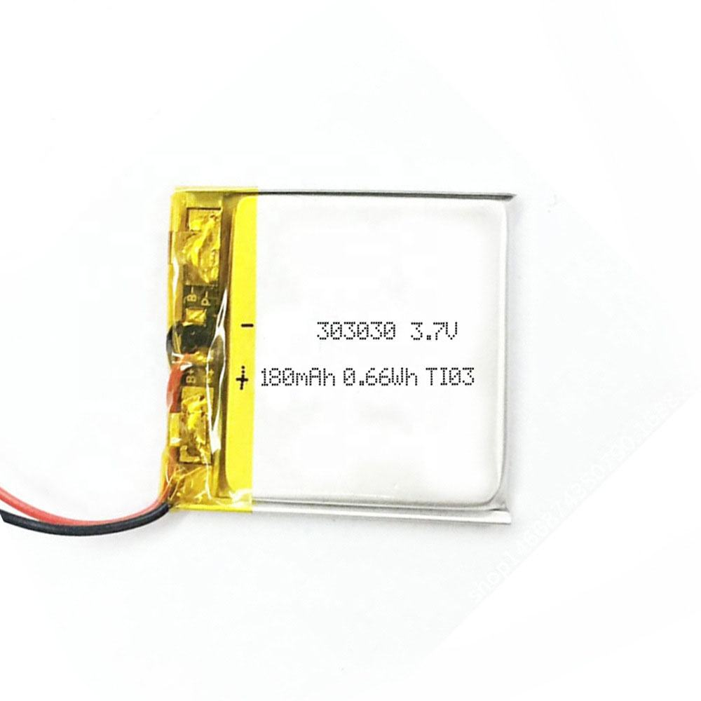 03030 Polymer lithium battery electronic watch badge nameplate rechargeable lithium battery manufacturer
