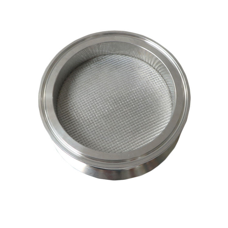 "4"" Stainless Steel 5 Micron sintered disc for BHO Extractor"
