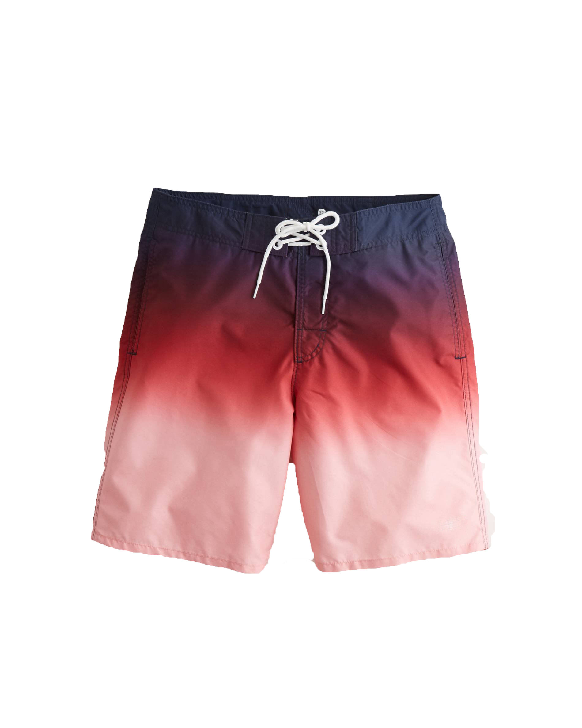 RED Sublimation Digital Print Swimsuit Beach wear Men Elastic Waistband Swim Shorts