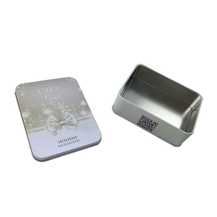 China Supply Competitive Price New design Rectangular Gift Packaging Tin Box