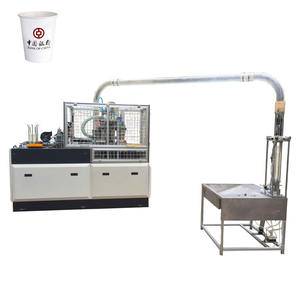 Hot sale middle speed open cam system paper cup forming making machine