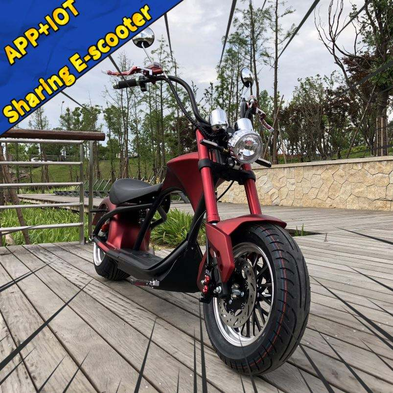 2020 Citycoco Fat Wheel Electric Chopper Scooter 2000W E Bike Kit 60V Adult Racing Motorcycle