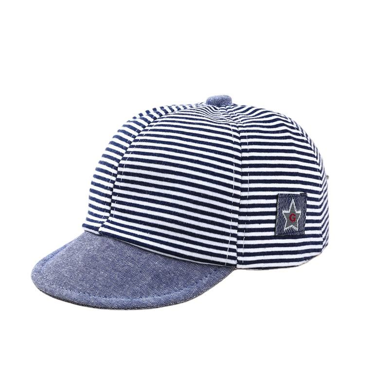 Cotton Soft Flat Brim Kids Baby Baseball Cap Hats Infant Boys Girls Hip Hop Snapback Caps