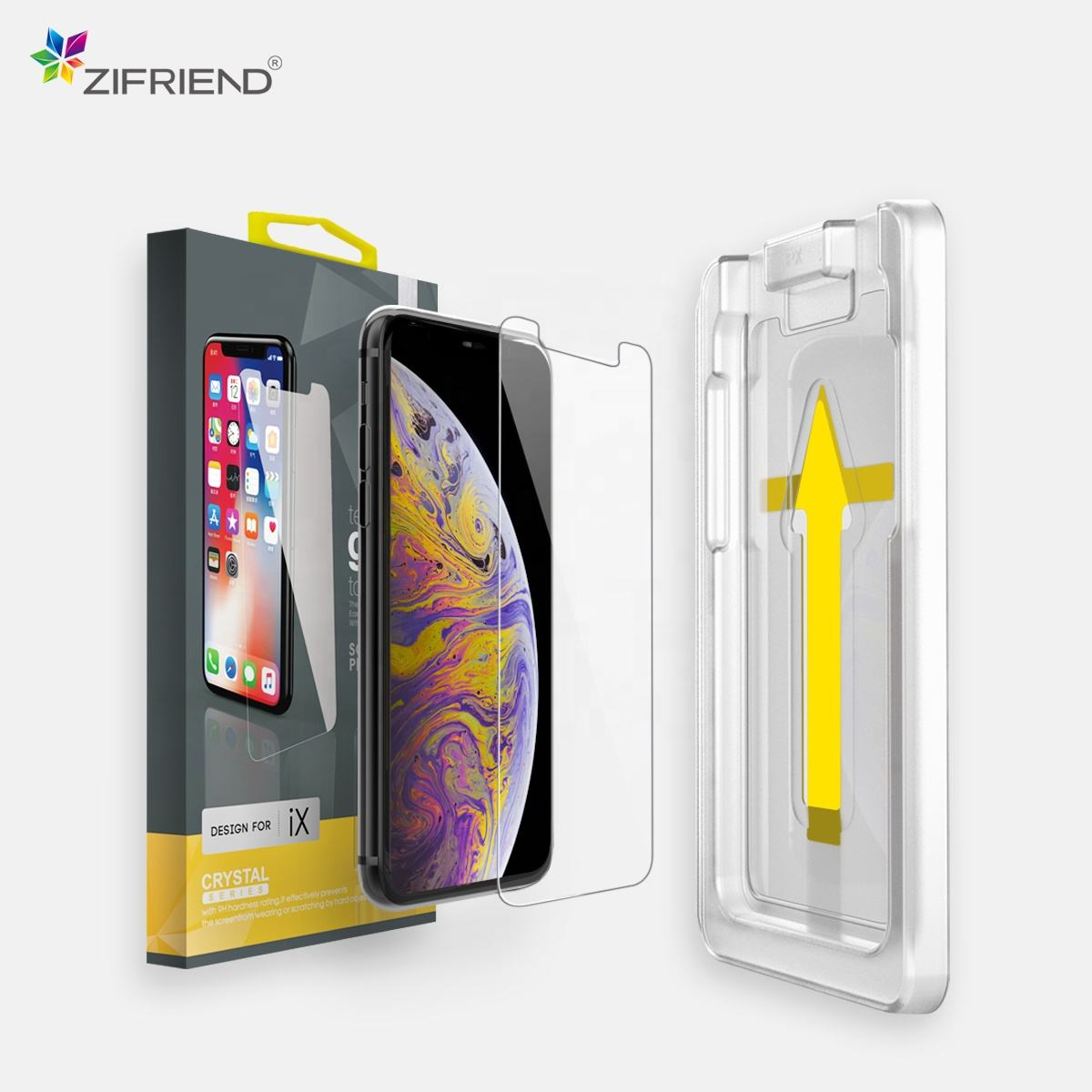 for iPhone 11 Pro Max SE X Xs Xr 8 7 6s 6 plus screen protector Free Sample Premium mobile phone tempered glass protective film