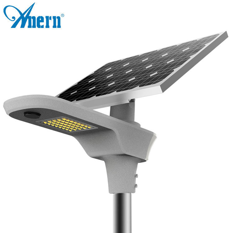 60w 8m ip66 solar outdoor light efficiency led solar street light