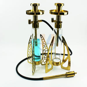 WOYU wholesale high tech shisha hookah with LED light for hookah lounge