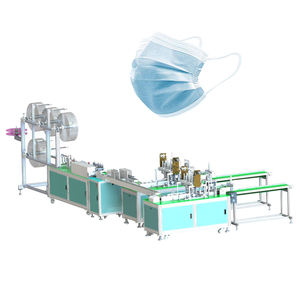 Cheap price Industries surgical earloop non woven face mask machine