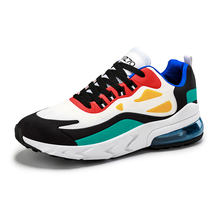 Newest Large size air cushion shoes Pu sports casual shoes with video men's shoes low top sneaker
