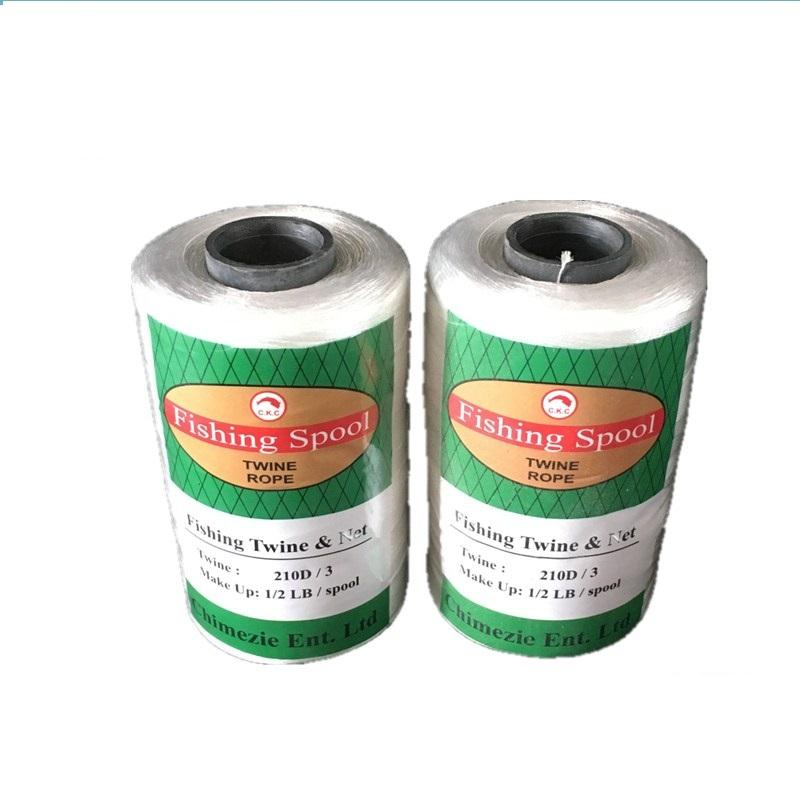 Hot Sell low shrinkage 210d nylon fishing twine