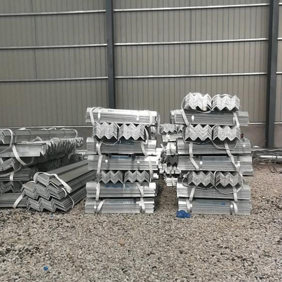 6mm thickness hot dip galvanized angle steel