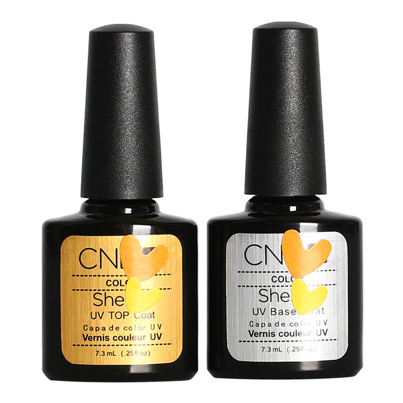 wholesale high shine clear non yellowing uv gel nail polish base top coat no wipe paint