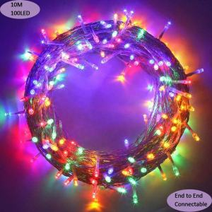 Outdoor waterproof Christmas Led Decoration Twinkle 50m 100m 150 Meter String Lights
