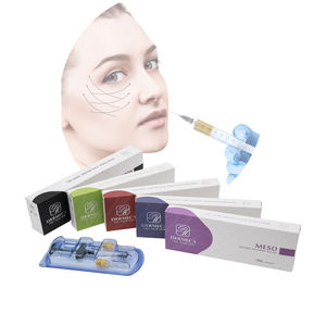 DERMECA CE approval Cross linked HA medium particle dermal filler