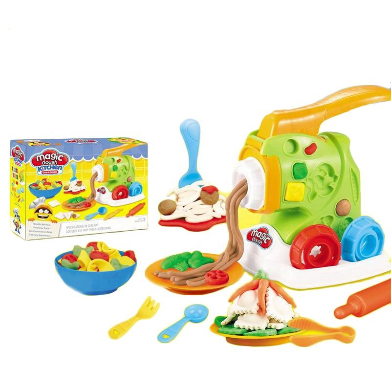 Factory directly selling kids colorful nontoxic intelligent play dough toys