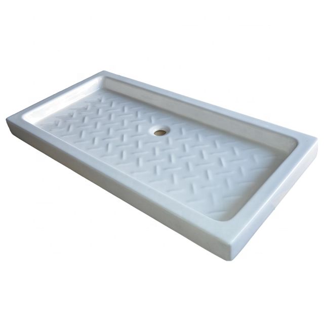 Good Quality 1400*800*100mm Deep Rectangle Bathroom White Ceramic Shower Tray