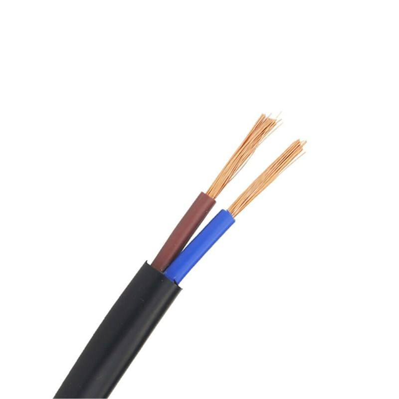 2 core 2.5mm2 Flexible H05VV-F Power Cable with Ce RoHS Certificate