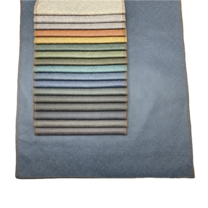 100% polyester micro suede polyester woven faux suede polyester suede for hometextile