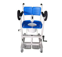 colorful multifunctional mover transfer chair patient disabled transfer lift chair CY-WH201