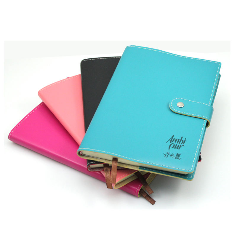 New Customized Gift Colorful PU Notebook MOQ1000PCS 0701065 One Year Quality Warranty