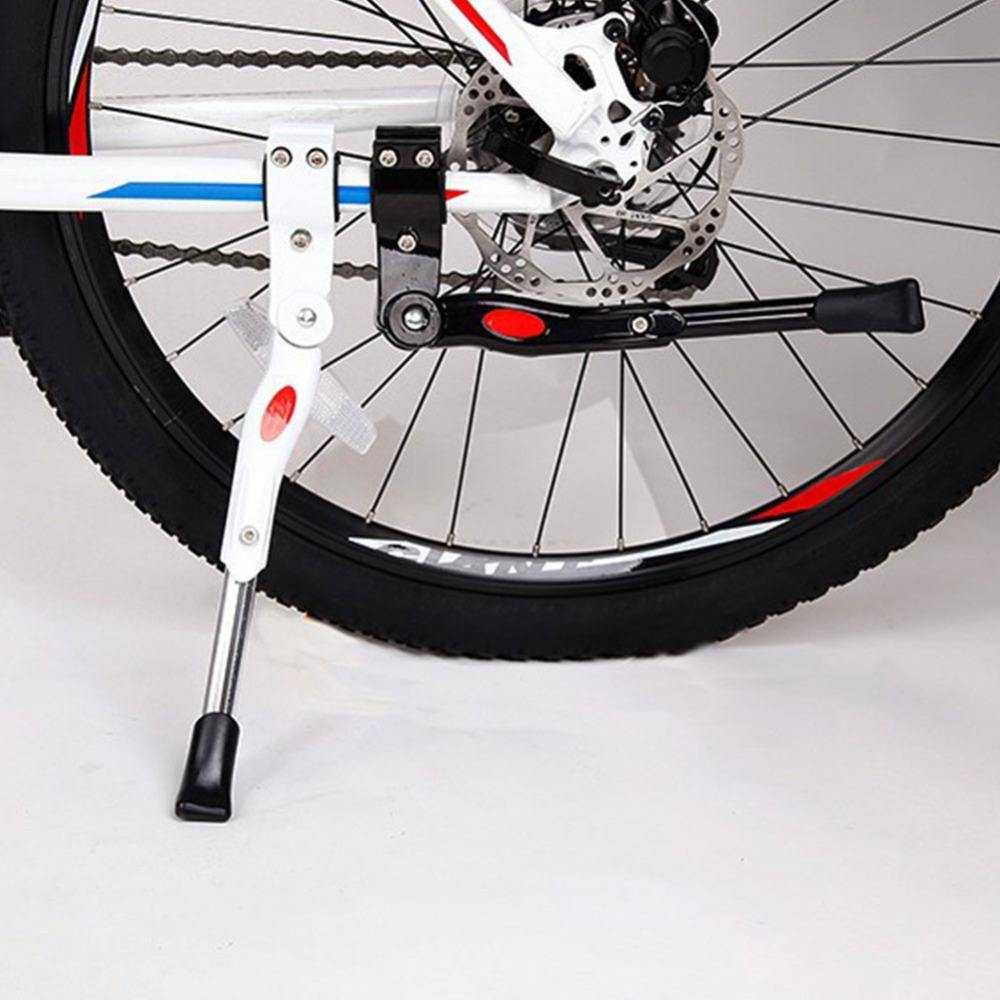 Bike Kickstand 34.5-40cm Adjustable MTB Road Bike Parking Rack Mountain Bike Support Side Kick Stand Foot Brace Cycling Parts