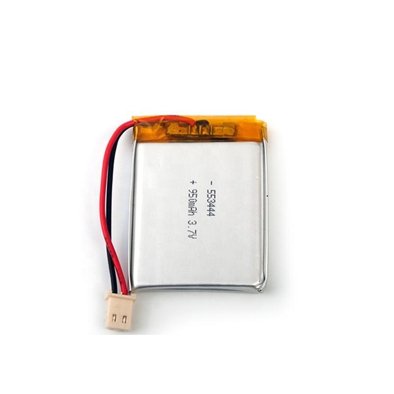 UL1642/KC Lithium Có Thể Sạc Lại Polymer Tế Bào AS553444 3.7 V 950 MAh Polymer <span class=keywords><strong>Pin</strong></span> Cho GPS Navigation