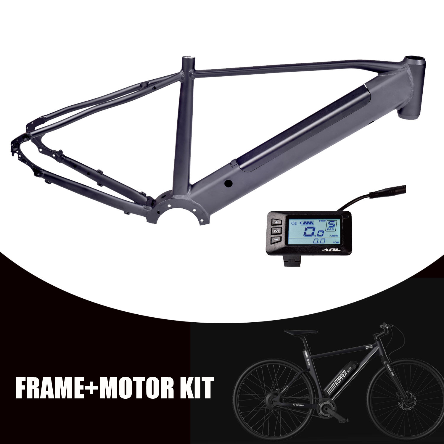 frame integrated battery bafang m500 m600 mm g521.250 AQL 250w+ 350w torque sensor mid drive motor mens commuter electric mtb