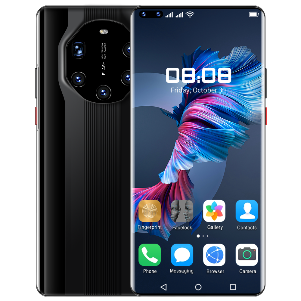 Mate40 RS 6.9-inch High-definition Face recognition Smartphone Five cameras Dual card dual standby Cellphone
