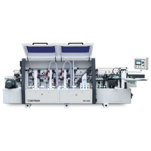China ROCTECH wood edge bander RCE05 automatic linear pur edge banding machine
